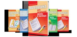 Курс начальной школы в таблицах